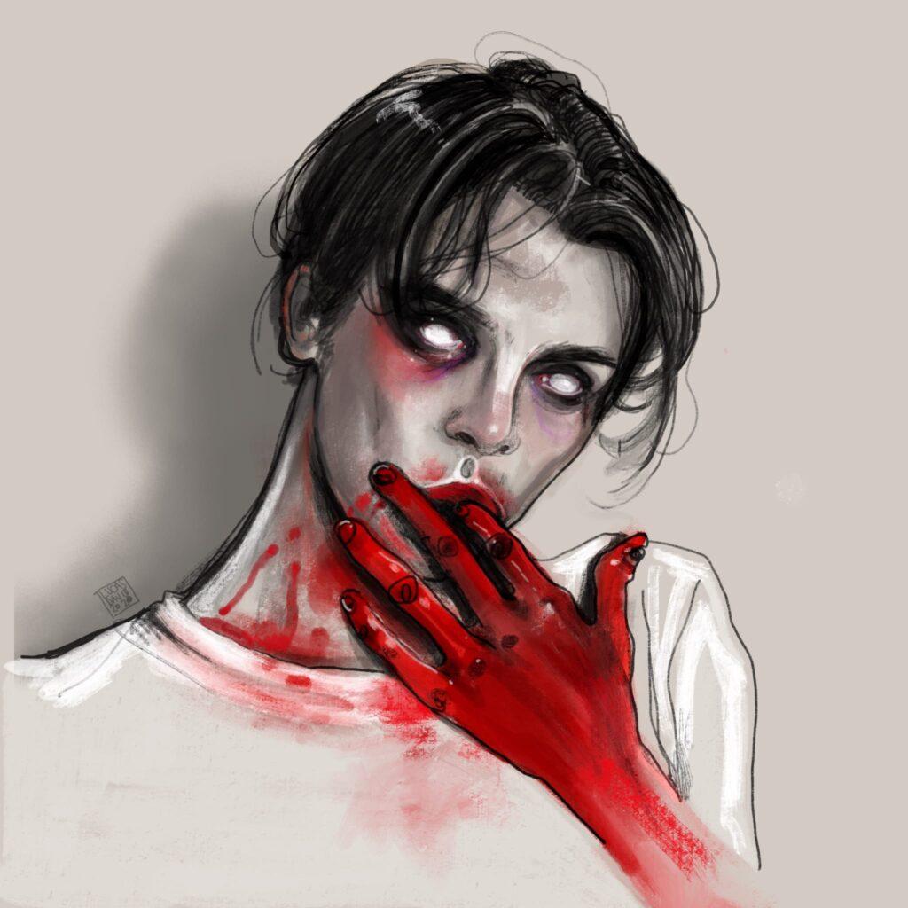 Lucas David Horror Artist