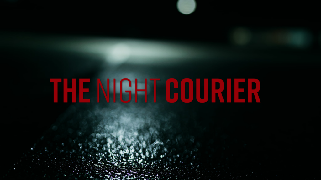 the night courier dark red horror