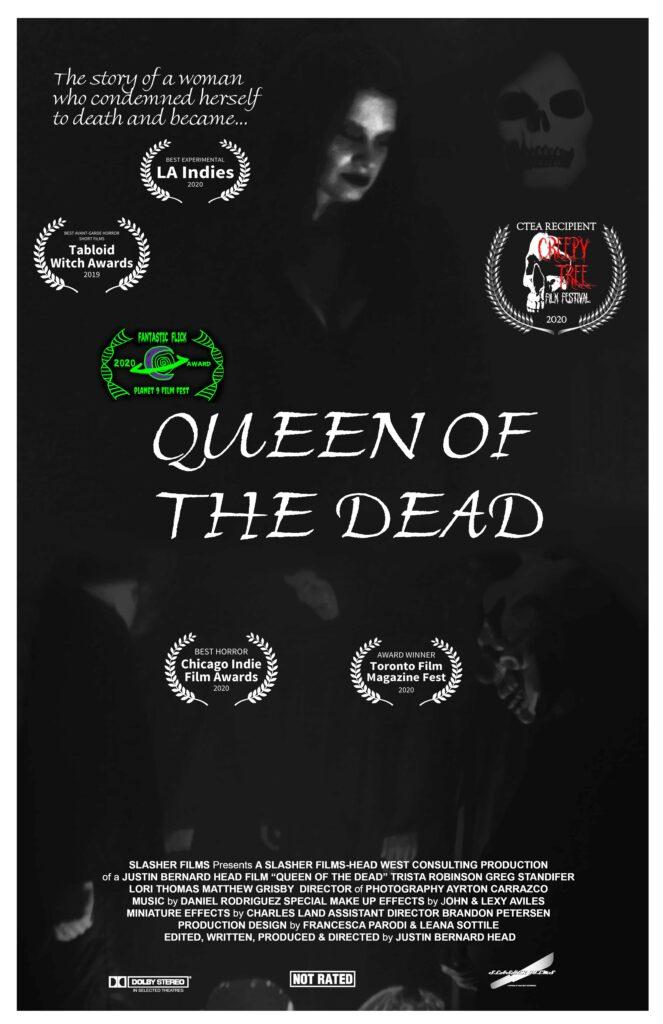 Queen of the Dead Justin Bernard Head