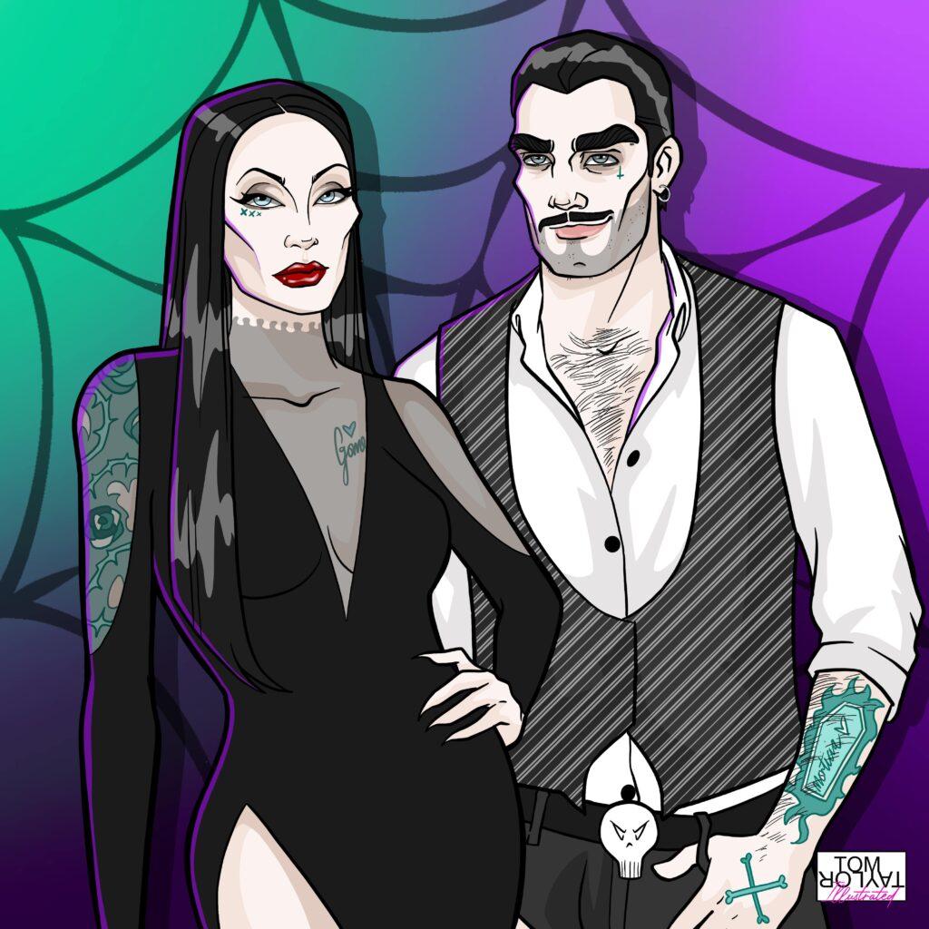 Horror Artist Tom Taylor Illustrated