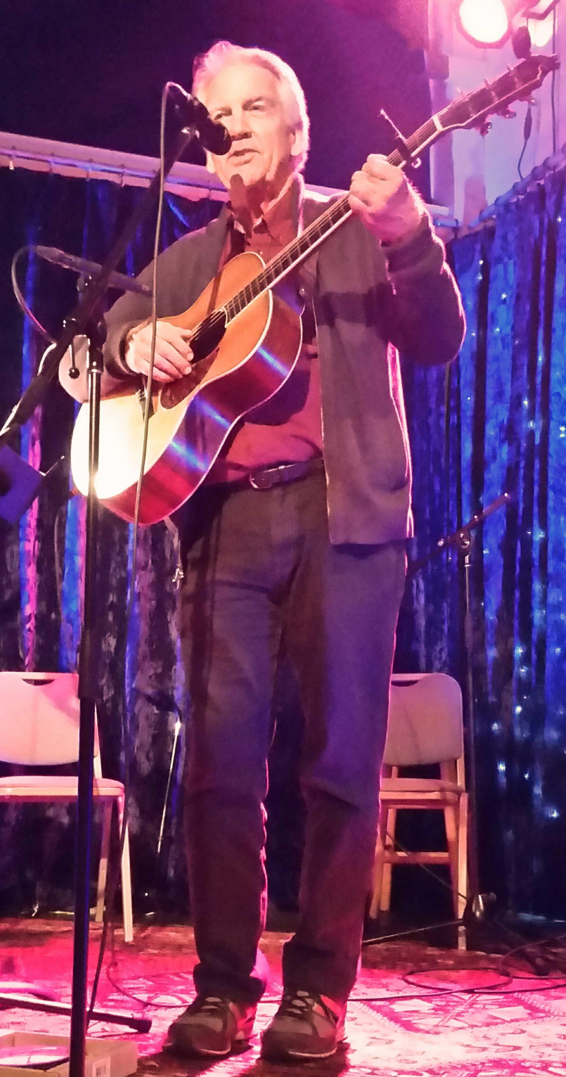Performing at the KALA Room-2