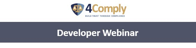 comply developer webinar replay