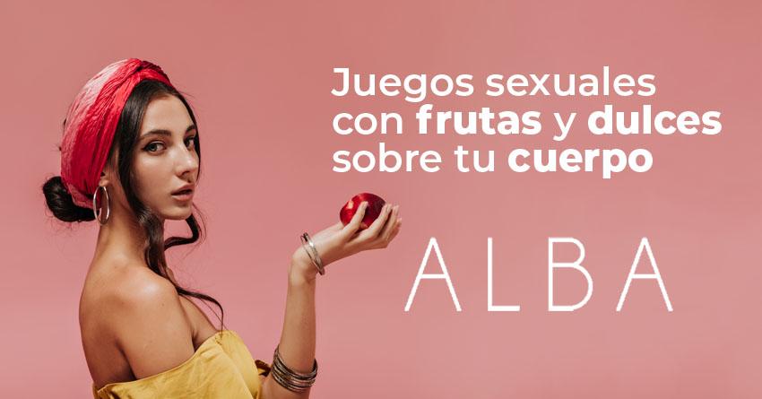 Articulo Juegos sexuales con frutas y dulces sobre tu cuerpo