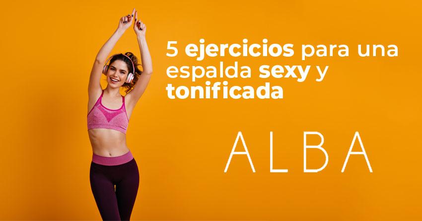 Articulo ejercicios para una espalda sexy y tonificada