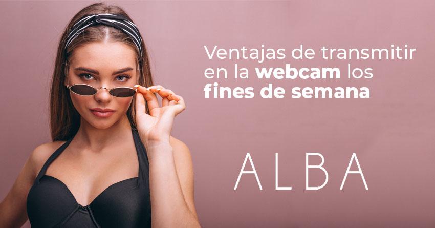 Articulo Ventajas de transmitir en la webcam los fines de semana