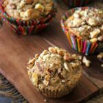 vegan banana muffin