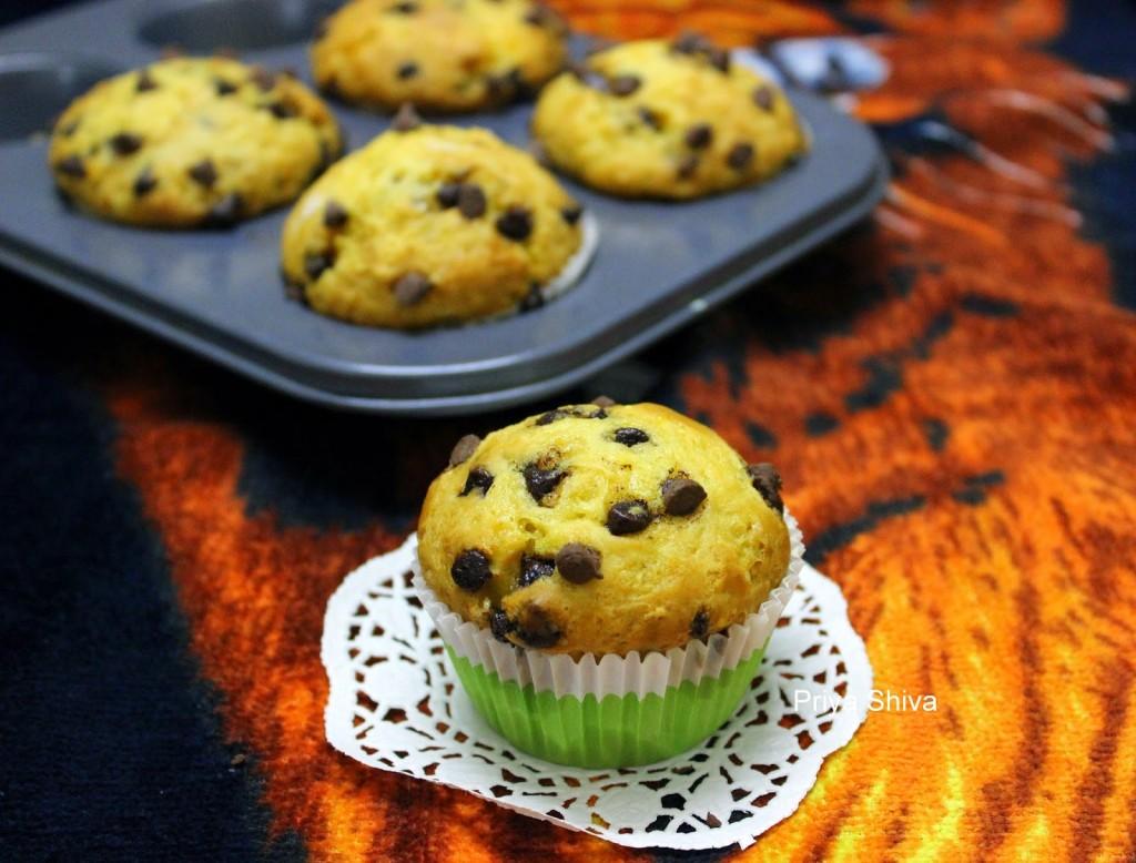 baking, eggless, snack, recipe, breakfast, muffin