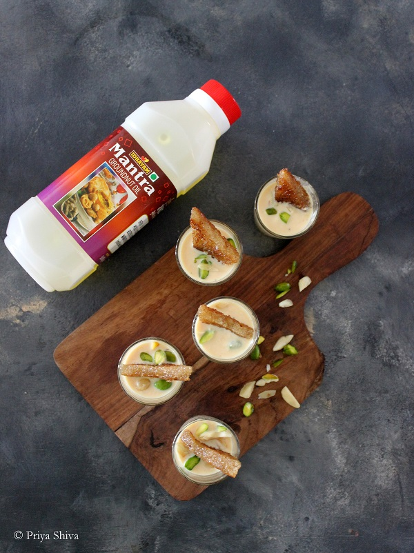 shahi tukda using idhayam mantra groundnut oil