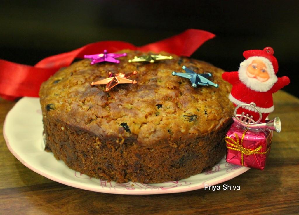 cake, baking, eggless, Christmas, recipe