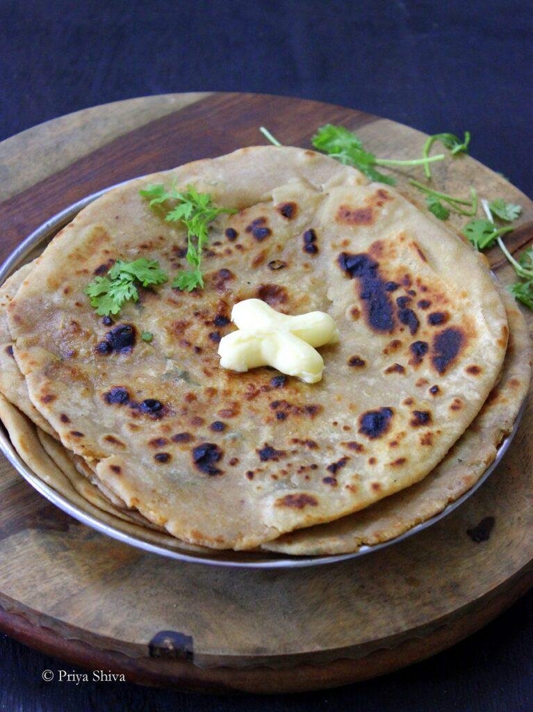 radish paratha recipe