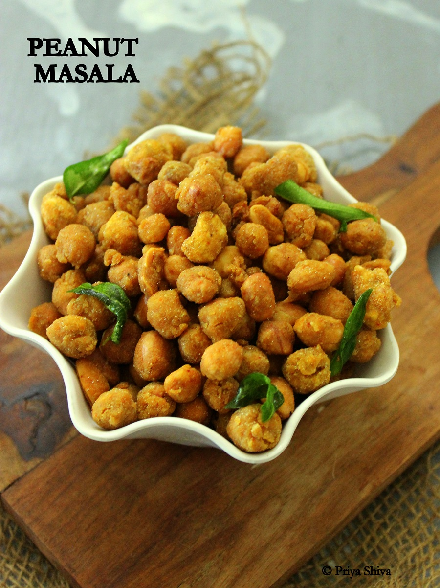 Peanut masala recipe