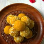 how to make Mango Coconut ladoo