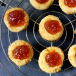 Ginger Marmalade Thumbprint Cookies