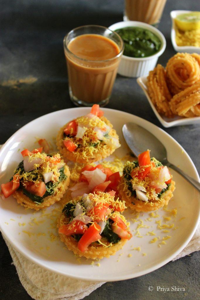 easy chakli chaat recipe