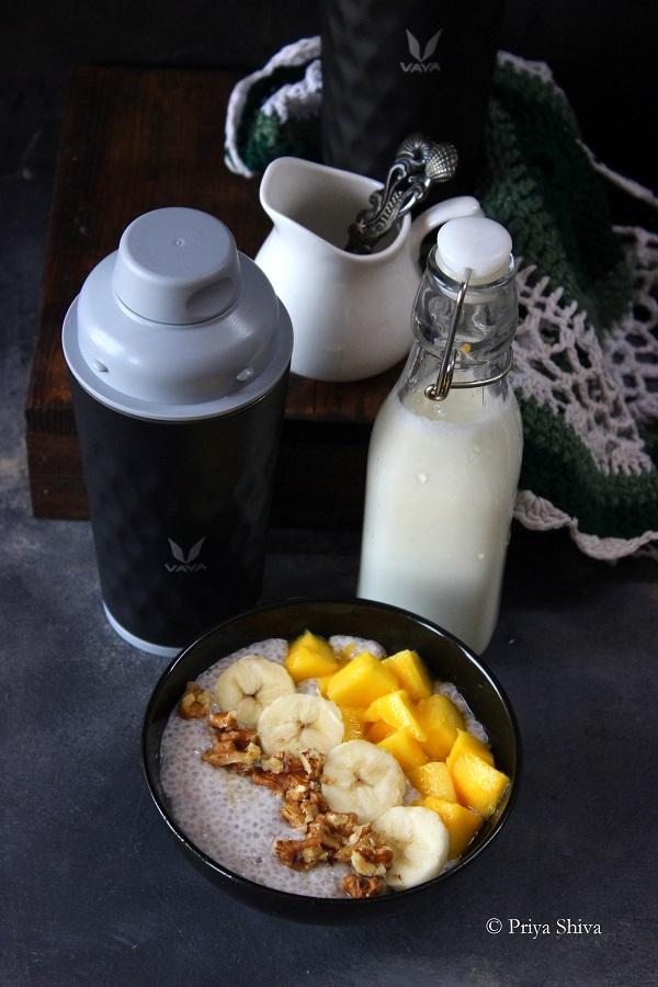 Coconut Milk Chia Breakfast Pudding recipe