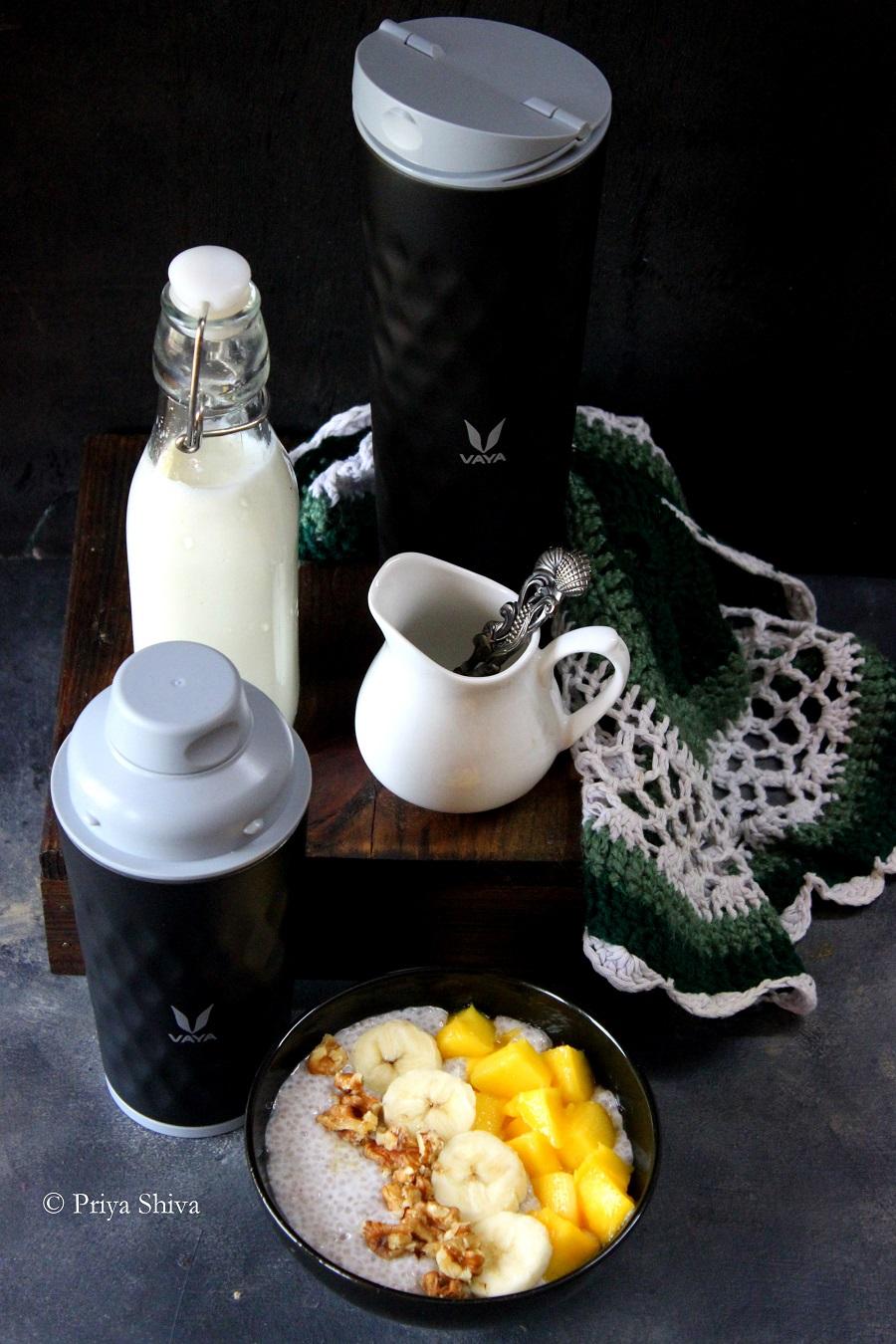 Coconut Milk Chia Breakfast Pudding
