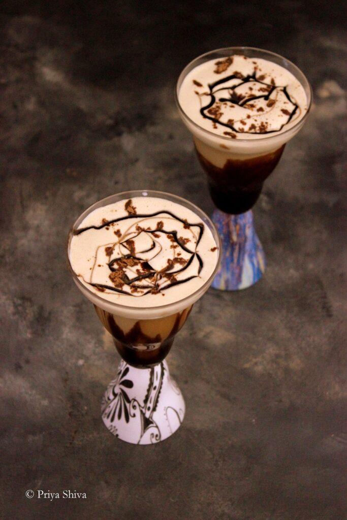 Chocolate Iced Latte
