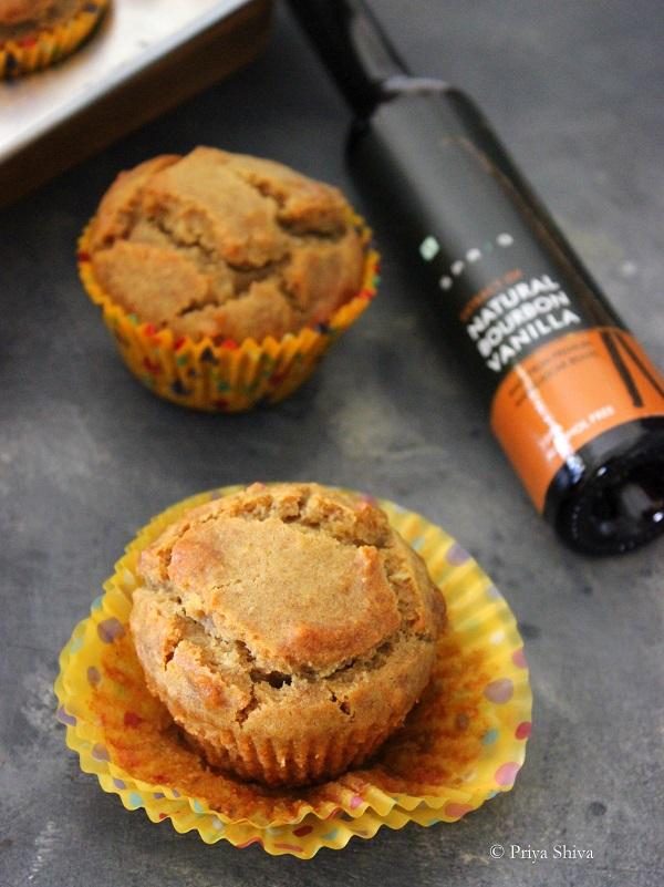 eggless dates muffins