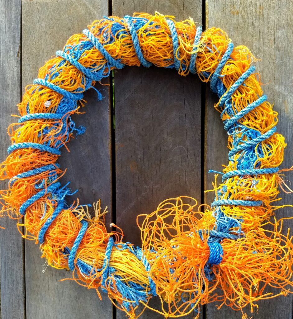 Fishing Net Wreath