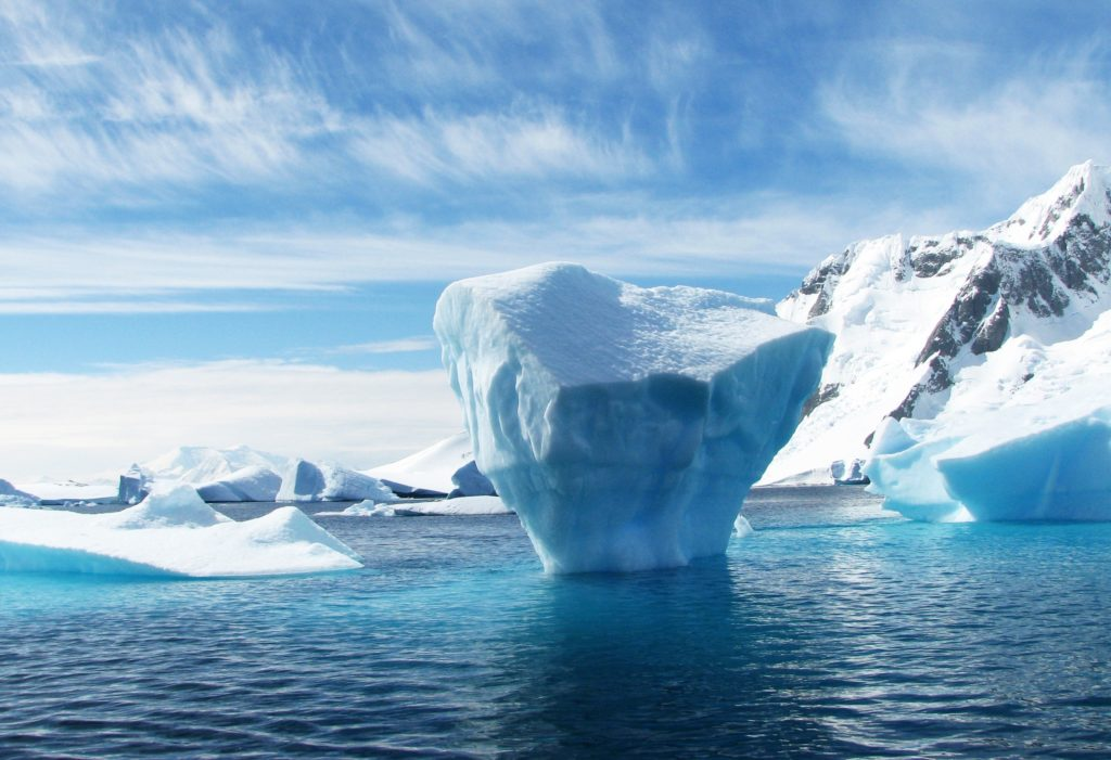 Ice Berg in the Ocean
