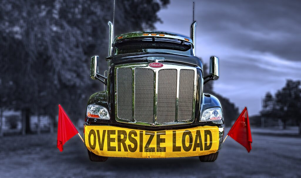 oversize load, oversized load, oversized