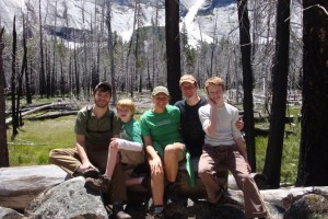Our family camping trip in Yosemite in 2011