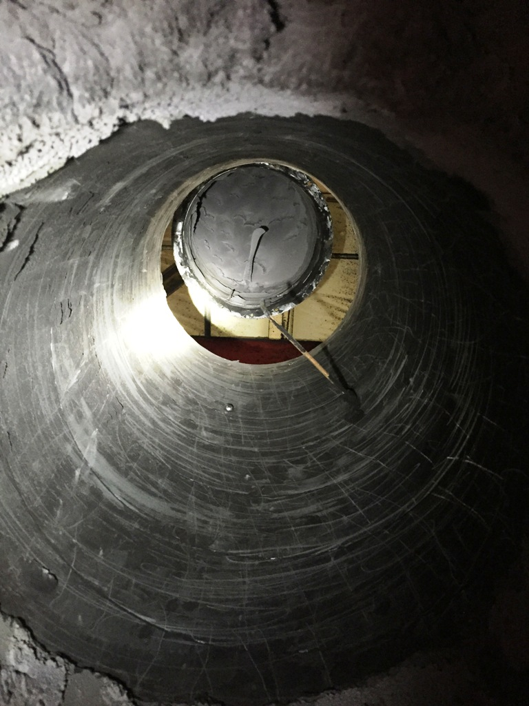 commercial duct inside clean