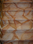 Amaretto Drift Marble, Stairs