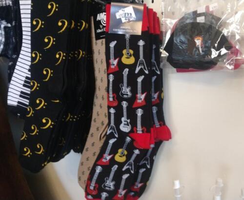 Guitar Player's Socks