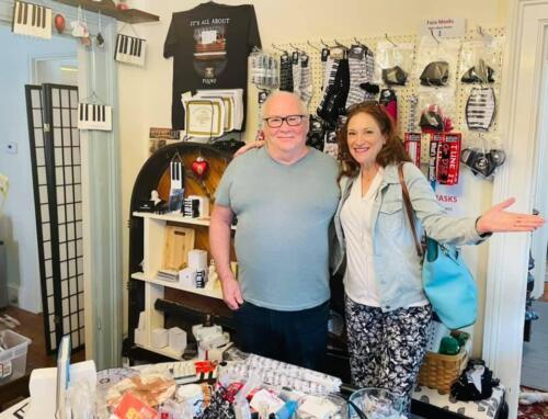 Robin Spielberg in Maple Street Music Shop