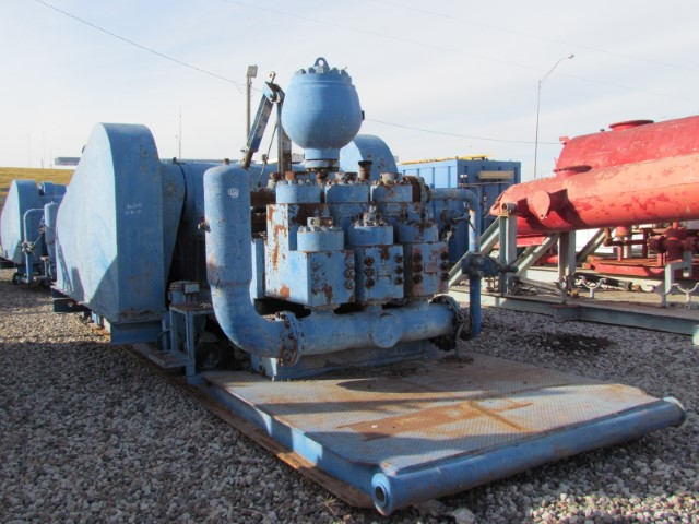 (1 of 2) NATIONAL OILWELL A1700PT Triplex Pumps (M) (Small)