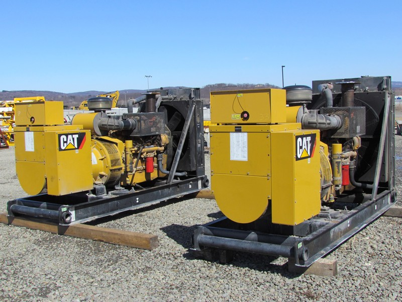 (2 of 6) CAT 455KW Gen Sets Ea p/b CAT C-15's - YD2