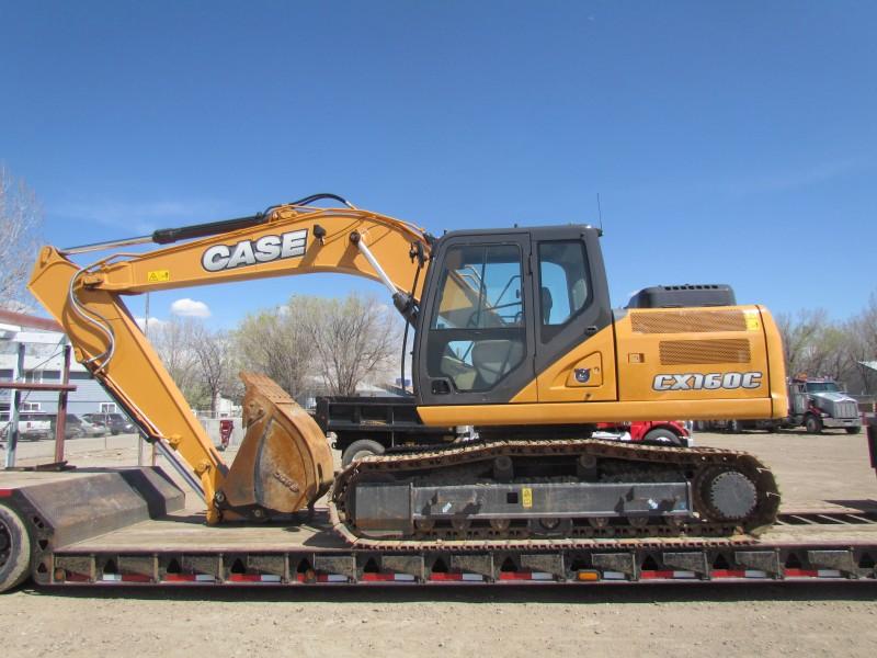 2014 CASE CX160C Excavator w/450 Hours – YD1