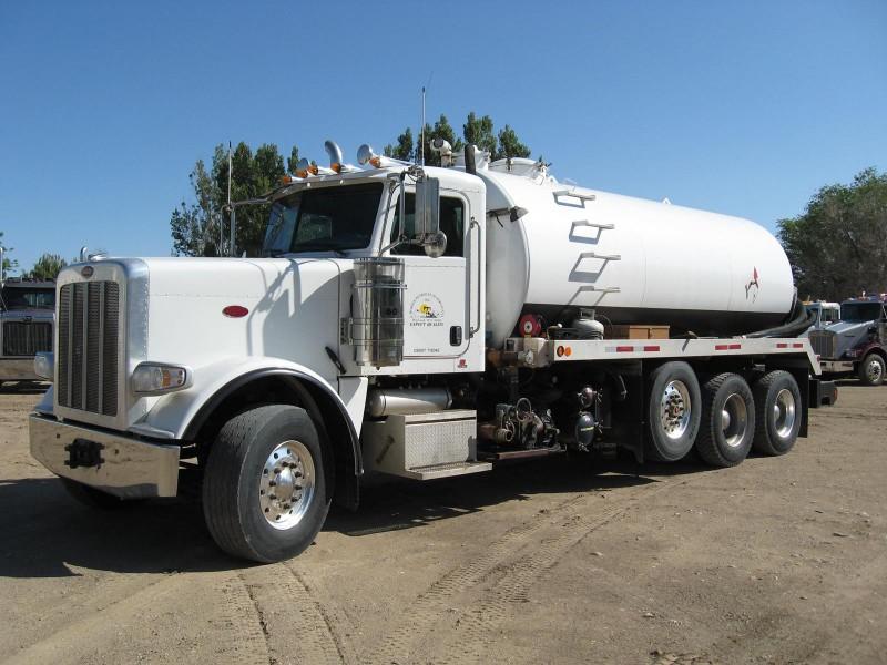 2012 PETE 100-Bbl Vac Truck w/CUMMINS ISX – YD1