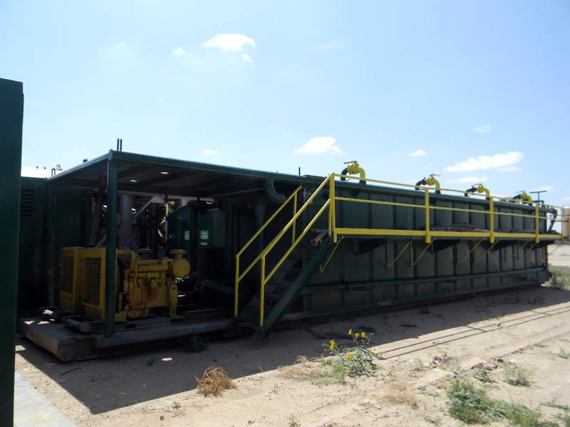 Rig # 3 500-Bbl Mixing Tank – DY2 YD7