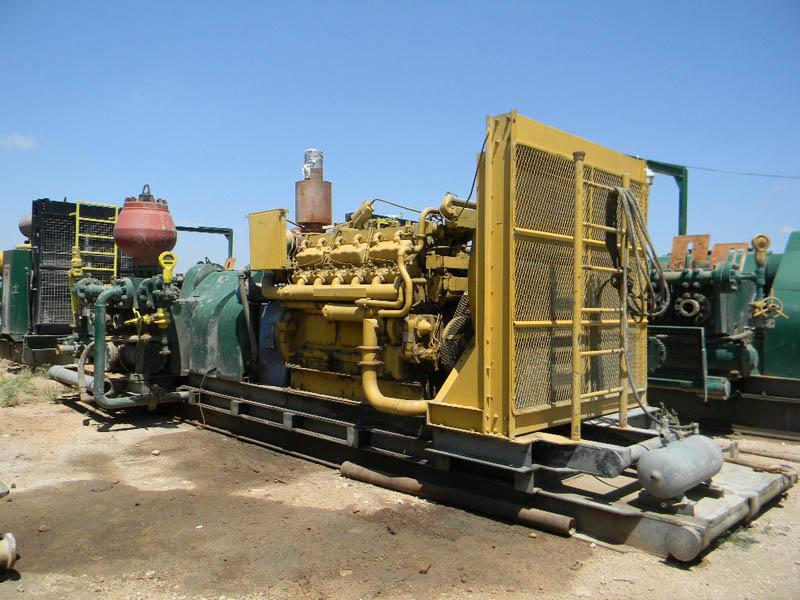 WEATHERFORD MP-10 Triplex Pump – DY2 YD8