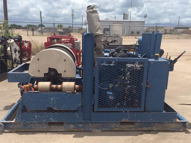 (1 of 2) GULF COAST MANUFACTURING Hyd Wireline Units