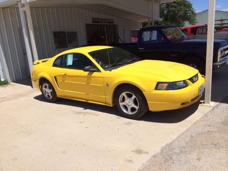 2004 FORD Mustang – DY1  YD1