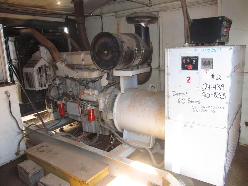(1 of 2) 325KW Gen w/Series 60 Eng, Rig #138 – YD5
