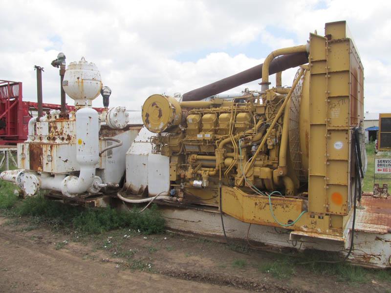 OILWELL A-850 Triplex, Rig #335 – YD10