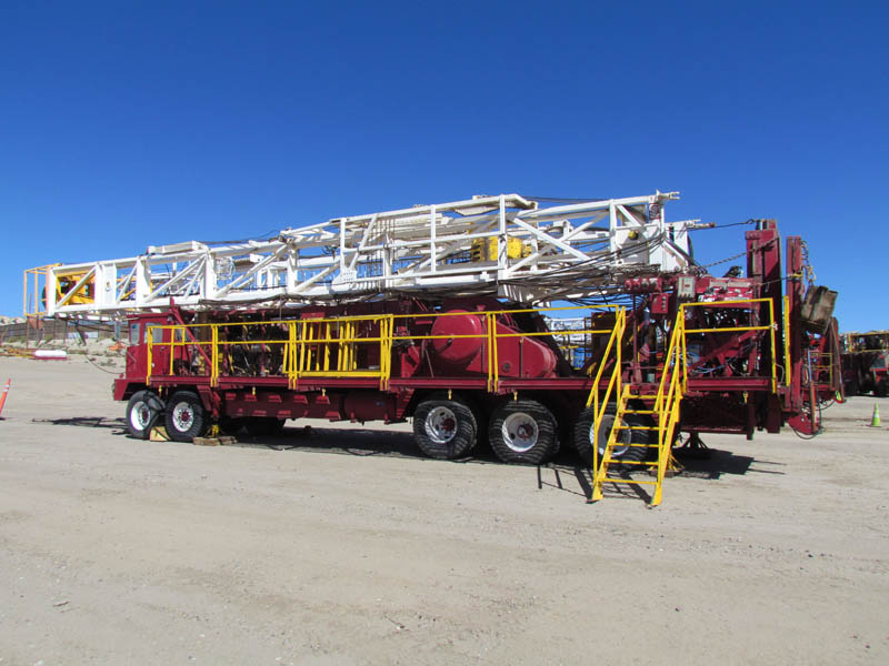 COOPER LTO-350 Well Service Rig - Last Worked 08/2015