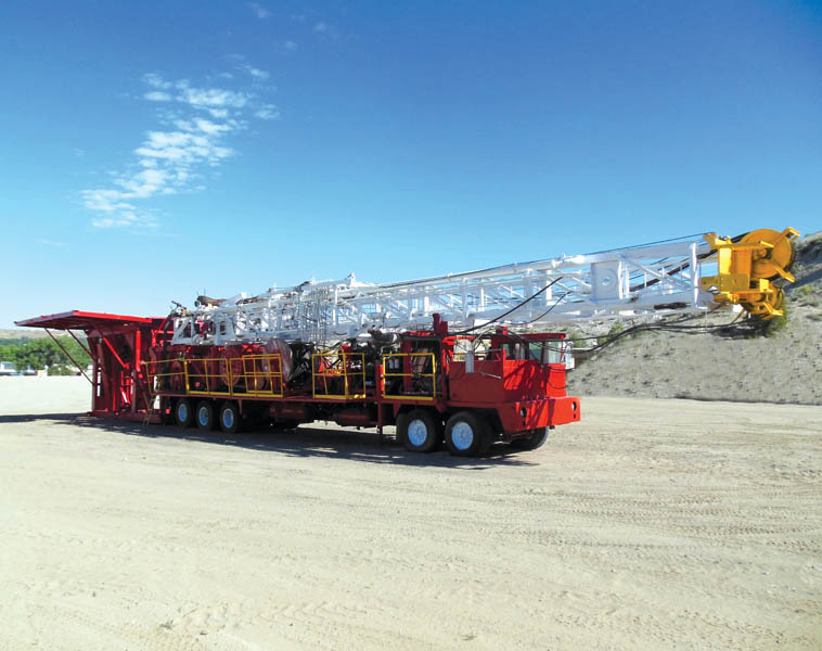(1 of 2) CARDWELL KB-500 Drilling Rigs