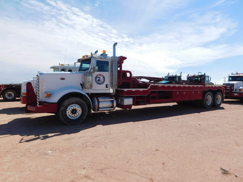 """2012 PETE Bed Truck w/402""""WB – DY2 YD1"""