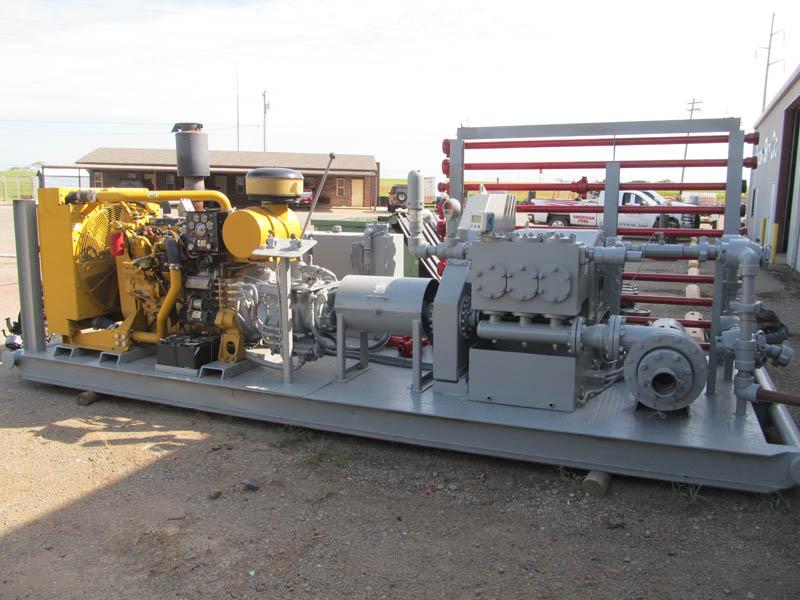 '07 TULSA RIG IRON TT-250 Pump – DY1 YD2