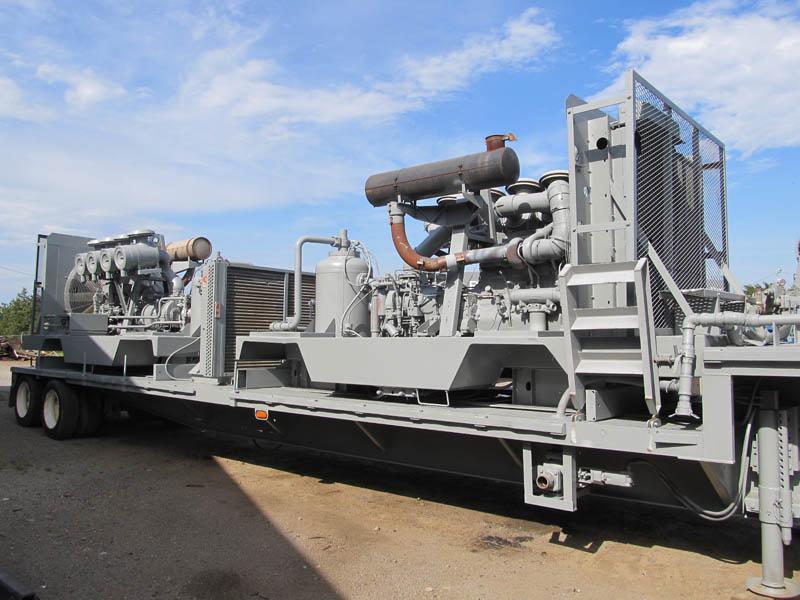 (2) I.RAND 900/400 Compressors – DY1 YD2