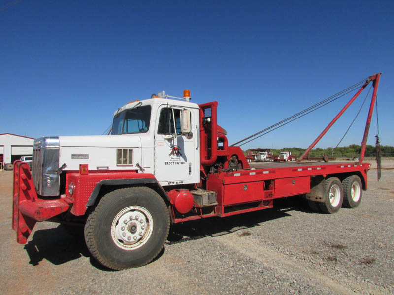 """'80 IHC F-5070 Gin Truck w/280""""WB – DY1 YD1"""