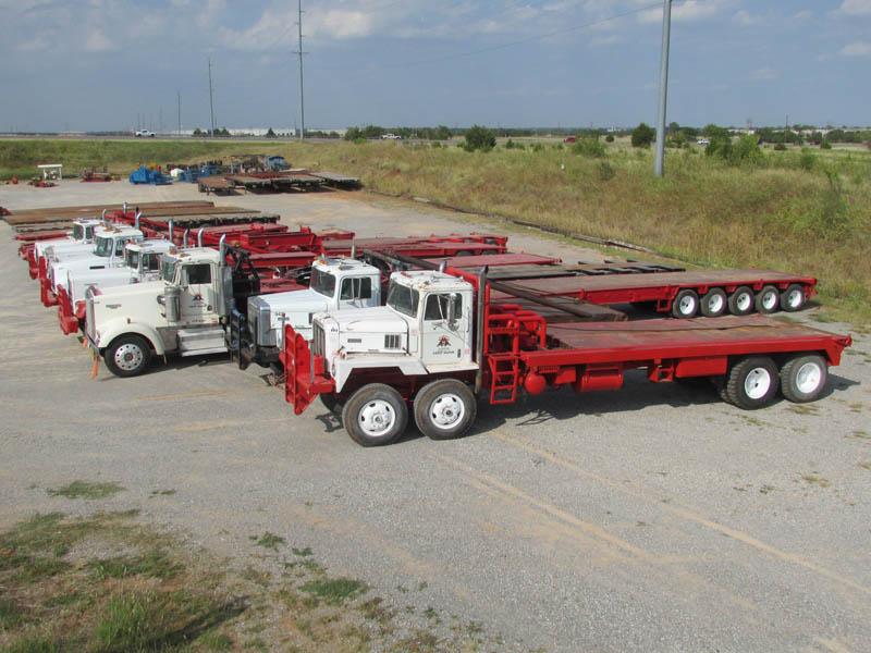 Oilfield Trucks & Trailers – DY1 YD1