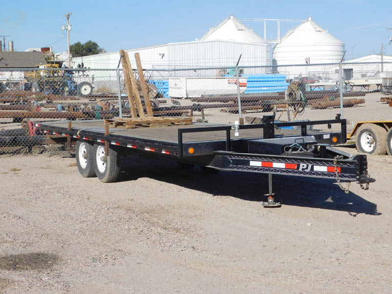 2011 PJ Tilt Bed Trailer