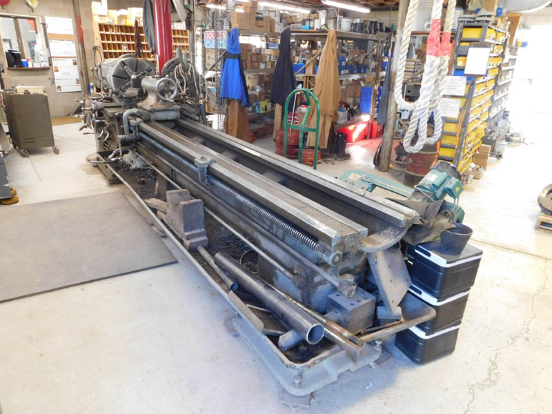 HENDEY Gap Bed Lathe