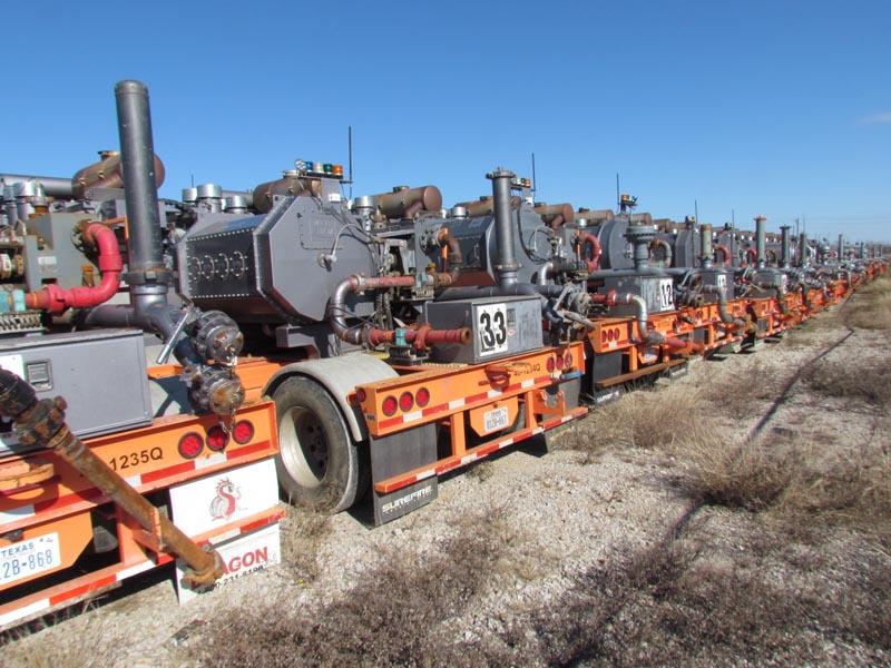 (30) G.DENVER & SPM 2250HP Frac Pumps – DY1 YD3